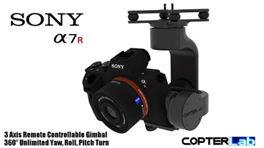 3 Axis Sony Alpha A7S Camera Stabilizer