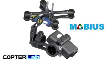 2 Axis Micro Camera Stabilizer for Mobius Camera
