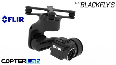 3 Axis Flir Blackfly Camera Stabilizer