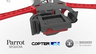 2 Axis Parrot Sequoia+ Micro NDVI Camera Stabilizer for TBS Discovery