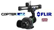 2 Axis Flir Tau 2 Micro Camera Stabilizer