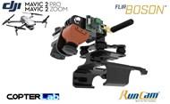 Flir Boson + Runcam Night Eagle 2 Pro Mounting Bracket for DJI Mavic 2 Enterprise