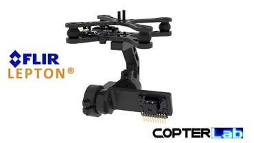 2 Axis Flir Lepton Micro Camera Stabilizer