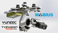 2 Axis Mobius Camera Stabilizer for Yuneec Q500 Typhoon