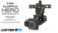 3 Axis GoPro Hero 5 Session Micro Camera Stabilizer