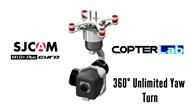 3 Axis SJCam M10+ Micro Camera Stabilizer