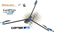 2 Axis GoPro Session Micro Camera Stabilizer for RCExplorer Tricopter