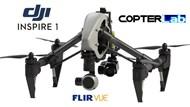 2 Axis Flir Vue Micro Camera Stabilizer for DJI Inspire 1