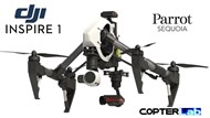 3 Axis Parrot Sequoia+ Micro NDVI Camera Stabilizer for DJI Inspire 1
