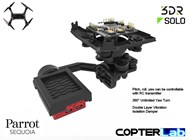 3 Axis Parrot Sequoia+ Stabilized NDVI Camera Stabilizer for 3DR Solo