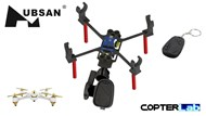 2 Axis 808 keychain #16 Nano Camera Stabilizer for Hubsan FPV X4 H501A
