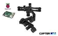 2 Axis Raspberry Pi Picamera 5MP Night Vision Micro Camera Stabilizer