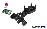 2 Axis Raspberry Pi Picamera 5MP Night Vision Nano Camera Stabilizer