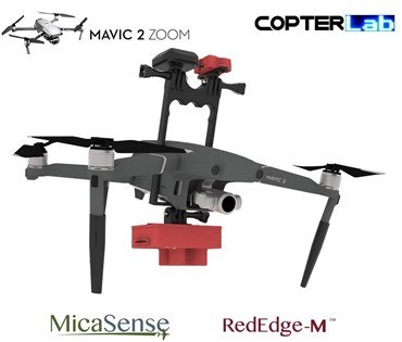 Micasense RedEdge M NDVI Mounting Bracket for DJI Mavic 2 Zoom