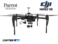 2 Axis Parrot Sequoia+ Micro NDVI Camera Stabilizer for DJI Matrice 100 M100