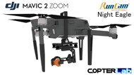 2 Axis Night Vision Camera Stabilizer IR Kit for DJI Mavic 2 Zoom