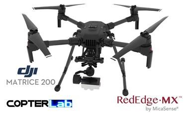 2 Axis Micasense RedEdge MX Micro NDVI Skyport Camera Stabilizer for DJI Matrice 200 M200