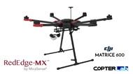 2 Axis Micasense RedEdge MX Micro NDVI Camera Stabilizer for DJI Matrice 600 M600 pro