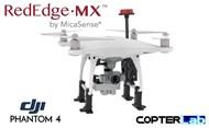 Micasense RedEdge MX NDVI Mounting Bracket for DJI Phantom 4 Pro v2