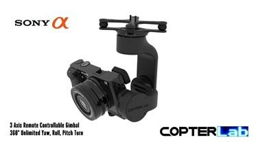 3 Axis Sony Alpha 6500 A6500 Camera Stabilizer