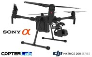 2 Axis Sony Alpha 6400 A6400 Micro Skyport Camera Stabilizer for DJI Matrice 200 M200