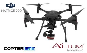 2 Axis Micasense Altum Micro NDVI Skyport Camera Stabilizer for DJI Matrice 200 M200