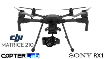 2 Axis Sony RX1 Micro Skyport Camera Stabilizer for DJI Matrice 210 M210