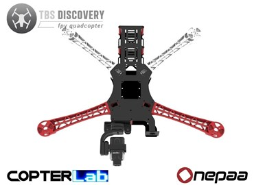 2 Axis Onepaa X2000 Micro Camera Stabilizer for TBS Discovery