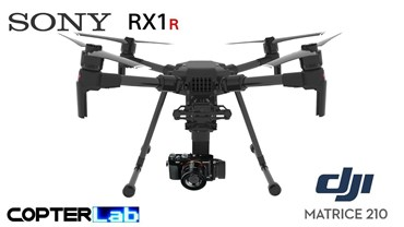 3 Axis Sony RX 1 R RX1R Micro Skyport Camera Stabilizer for DJI Matrice 210 M210