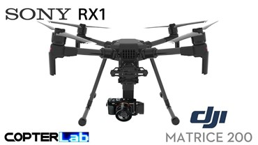 3 Axis Sony RX 1 RX1 Micro Skyport Camera Stabilizer for DJI Matrice 210 M210