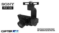 3 Axis Sony RX 100 RX100 Camera Stabilizer