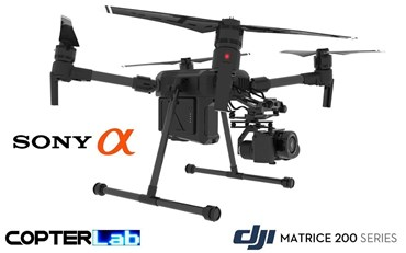2 Axis Sony Alpha 6100 A6100 Micro Skyport Camera Stabilizer for DJI Matrice 200 M200