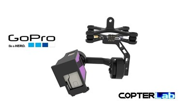 2 Axis GoPro Hero 8 Micro Camera Stabilizer