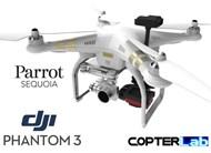 Parrot Sequoia+ NDVI Mounting Bracket for DJI Phantom 3 Standard
