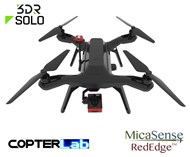 2 Axis Micasense RedEdge RE3 Micro NDVI Camera Stabilizer for 3DR Solo