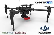 2 Axis Micasense RedEdge RE3 Micro NDVI Camera Stabilizer for DJI Matrice 100 M100
