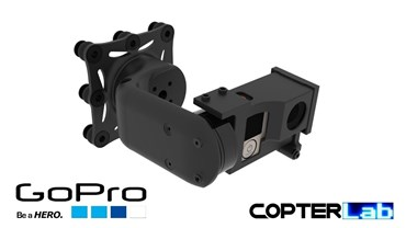 2 Axis GoPro Hero 1 Pan & Tilt Camera Stabilizer