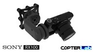 2 Axis Sony RX 100 RX100 Pan & Tilt Camera Stabilizer