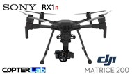 3 Axis Sony RX 1 R2 RX1R2 Micro Skyport Camera Stabilizer for DJI Matrice 200 M200