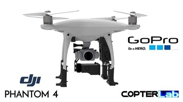 1 Axis GoPro Hero 9 Pitch Axis Camera Stabilizer for DJI Phantom 4 Standard