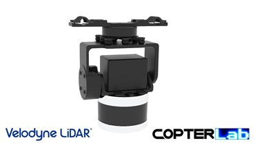 2 Axis Velodyne Puck Lidar Pan Tilt Camera Stabilizer
