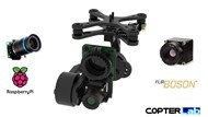 2 Axis Raspberry Pi High Quality + Flir Boson Dual Micro Camera Stabilizer
