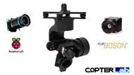 3 Axis Raspberry Pi High Quality + Flir Boson Dual Micro Camera Stabilizer