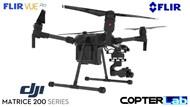 3 Axis Flir Vue Micro Skyport Camera Stabilizer for DJI Matrice 200 M200