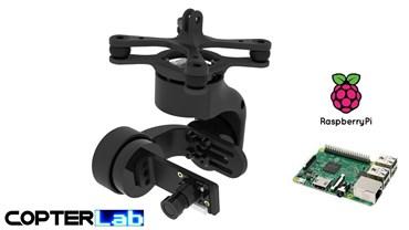 3 Axis Raspberry Pi PiCamera V1 Camera Micro Camera Stabilizer